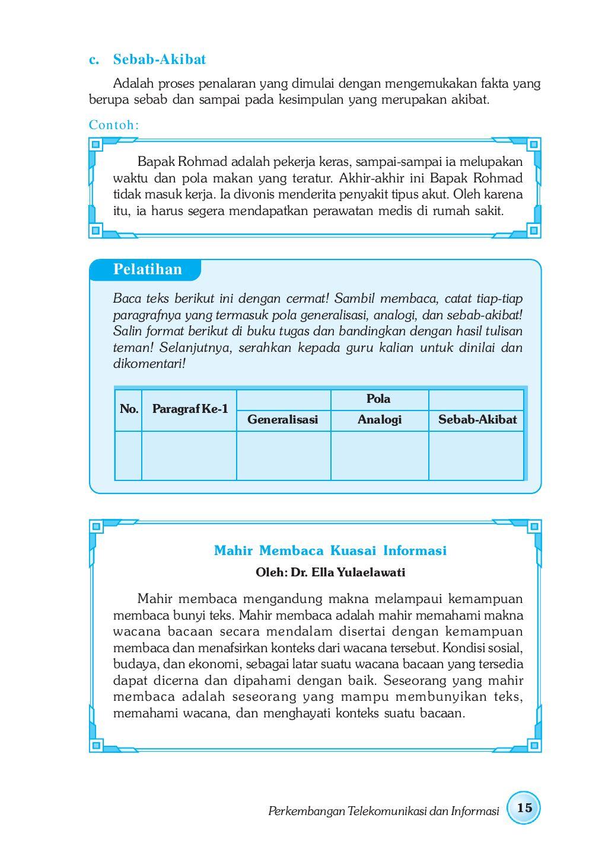 Kelas Xii Bahasa Indonesia By Pt Commeta Niaga Raya Issuu
