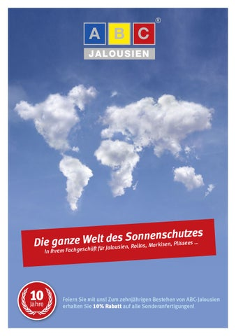 Abc Jalousien.Abc Jalousien By Sascha Nau Issuu