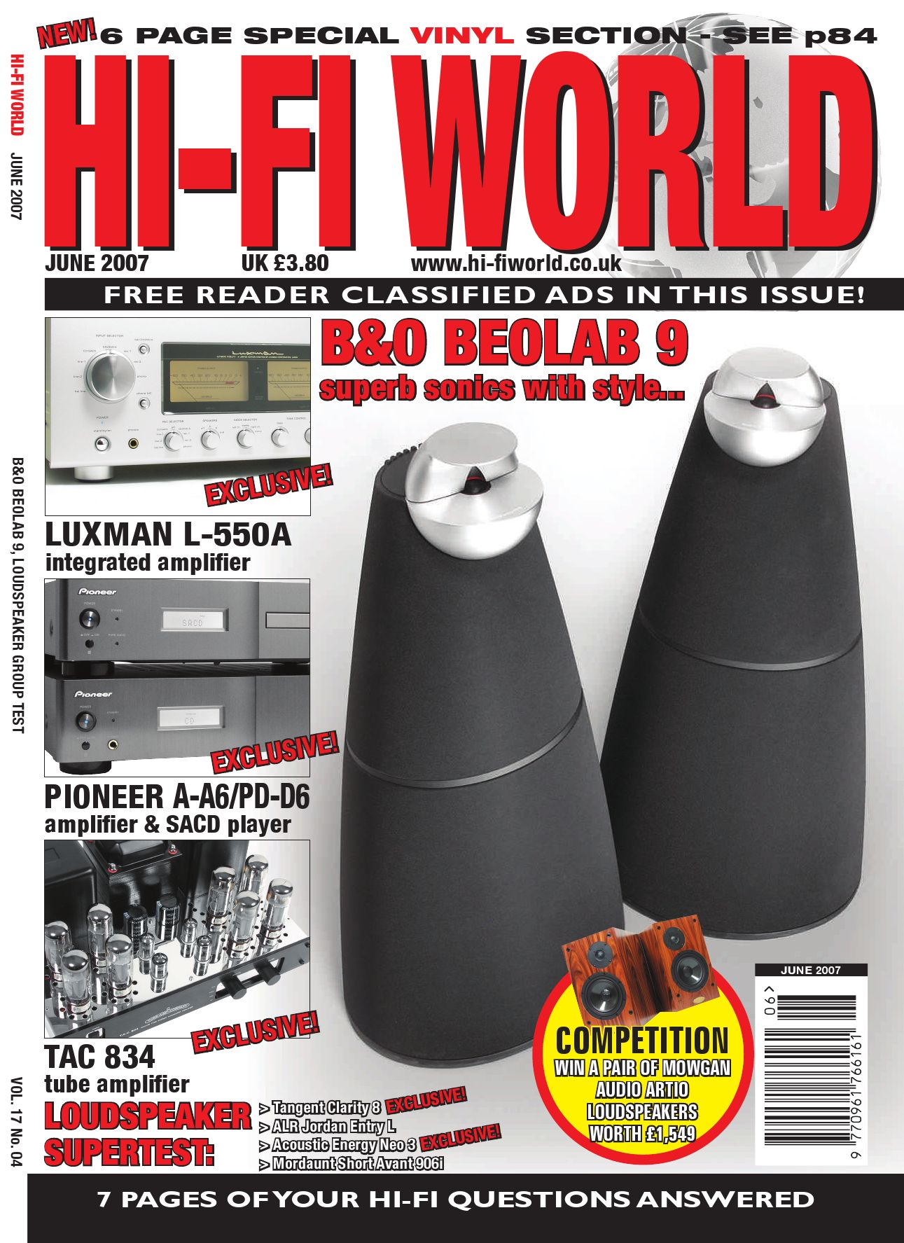 Hi Fi World May By Gerry Radford Issuu Ipod Amplifier Circuit Using Ic 741 Electronic Projects
