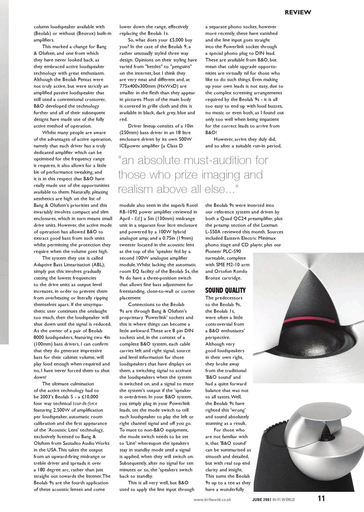 Hi - Fi World May) by Gerry Radford - issuu