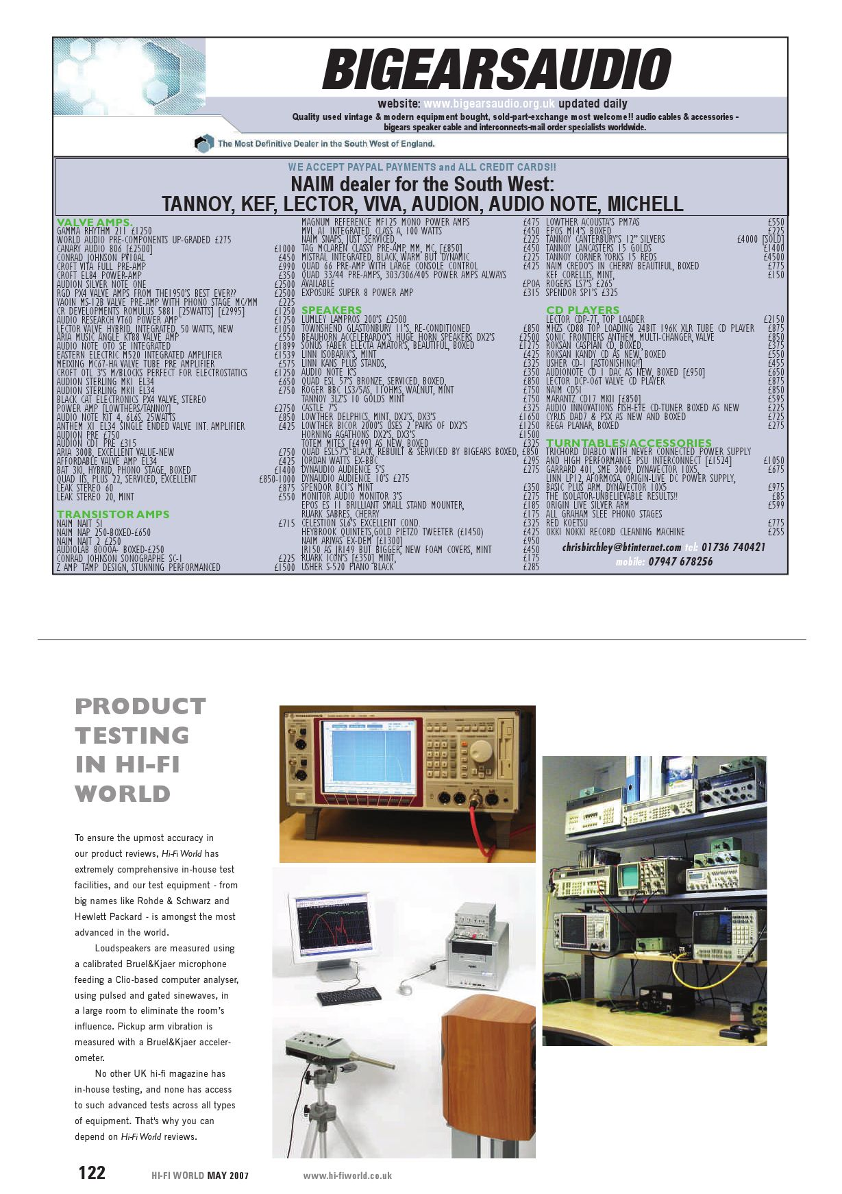 Hi - Fi World (May) by Gerry Radford - issuu
