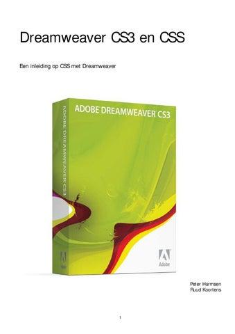 35728d057c0 Beknopte Handleiding Dreamweaver by Rudi Melio - issuu