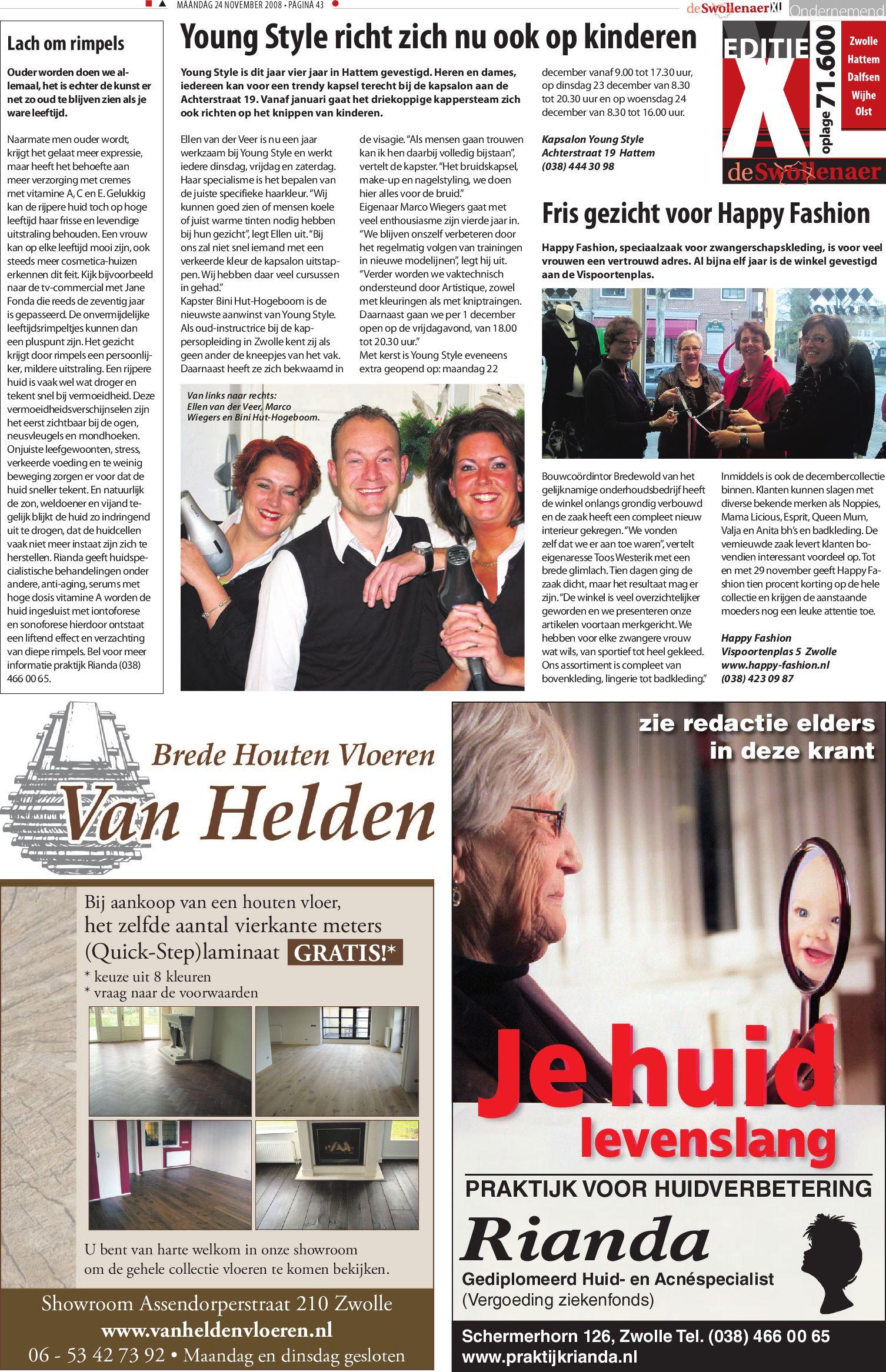 Zwangerschapskleding Zwolle.Swollenaer Week 48 By Brugmedia B V Issuu