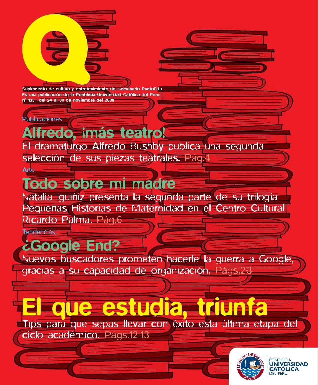 Suplemento Q N° 133 by PuntoEdu - issuu