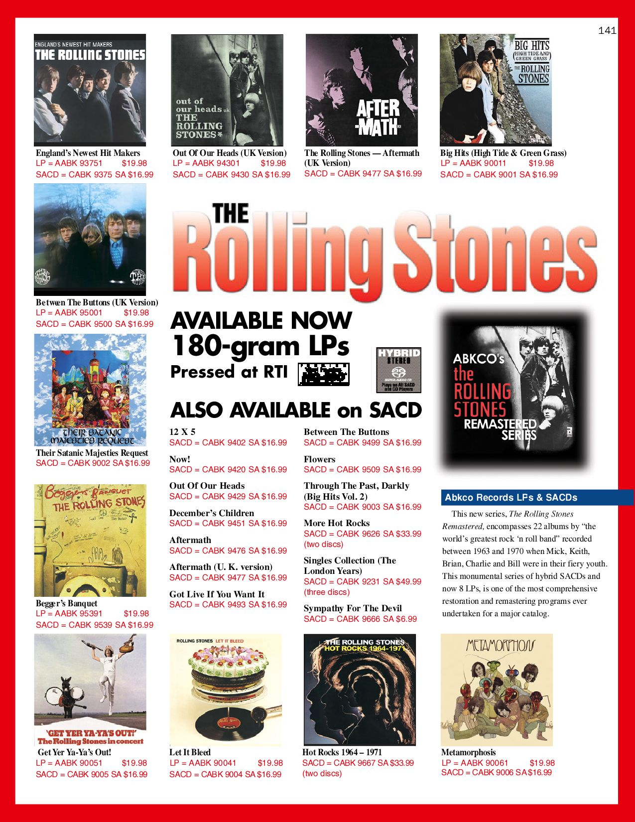 Acoustic Sounds (Update) Catalog. by Gerry Radford issuu