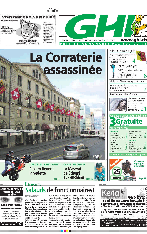 79e149f098998c GHI 27.11.08 by GHI   Lausanne Cités - issuu