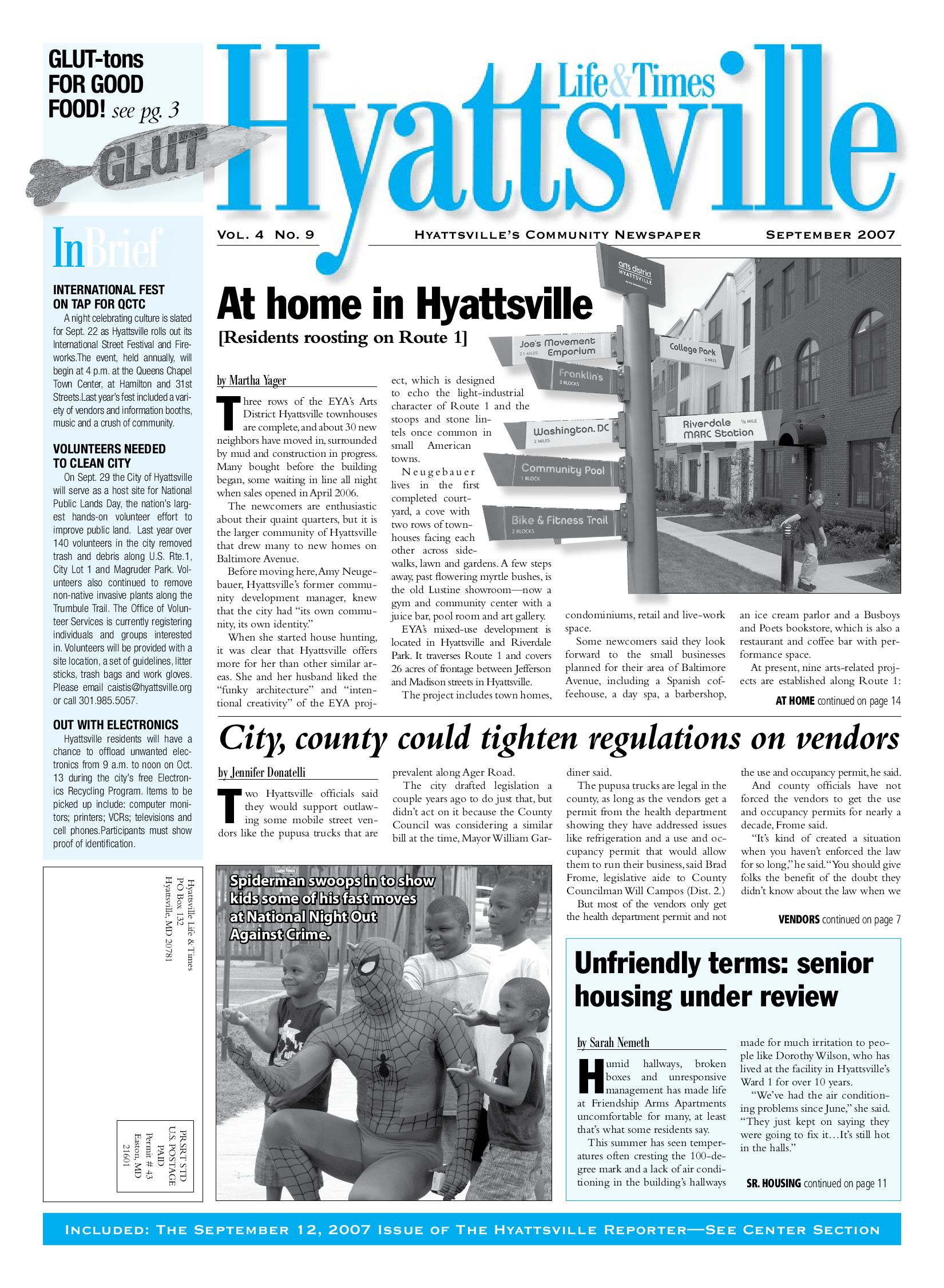 df4a8638b3 Hyattsville Life   Times September 2007 Issue by Hyattsville Life and Times  - issuu