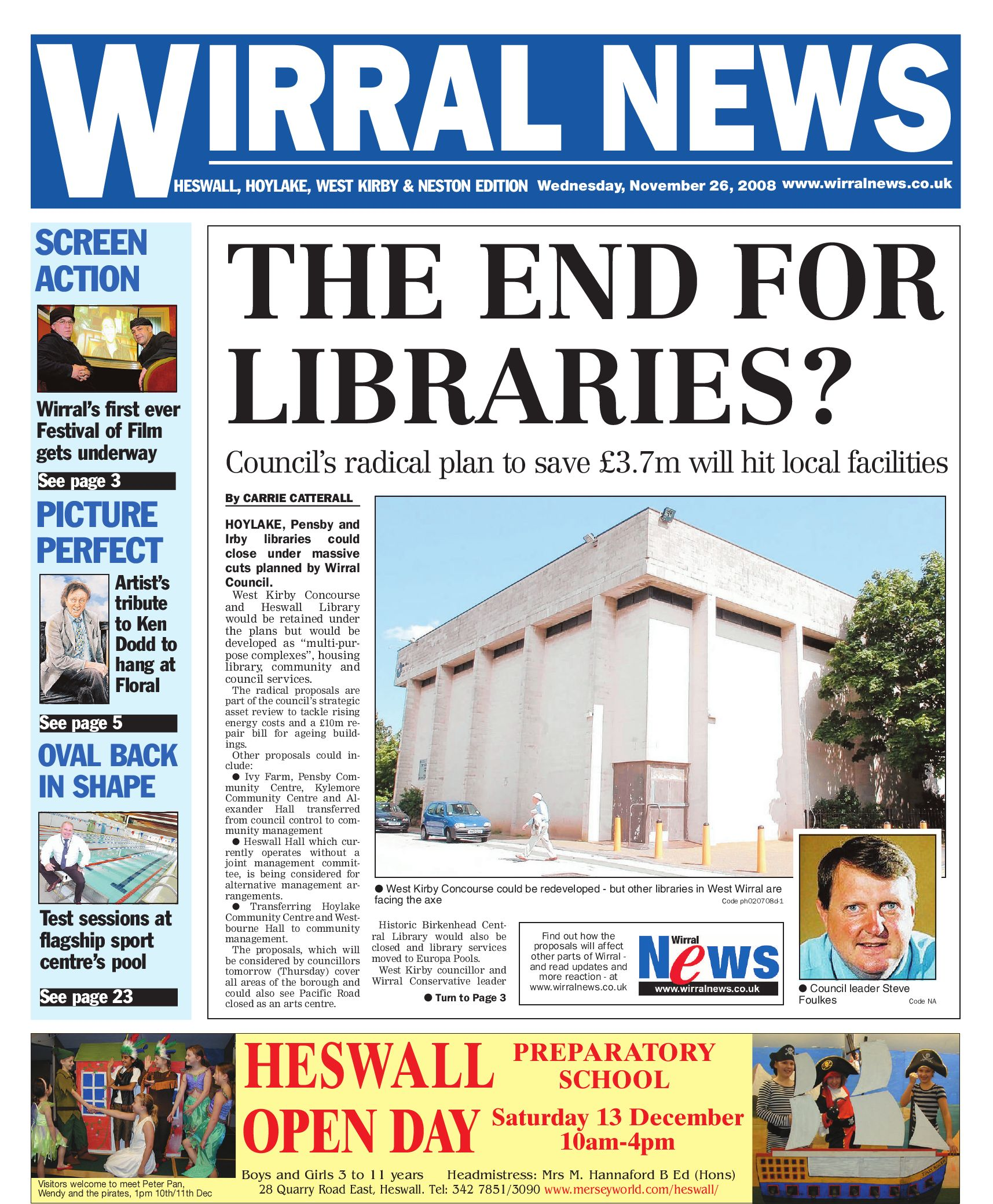 97b4a74e6c Wirral News - West Wallasey Edition by Merseyside.Weeklies v1s1ter - issuu