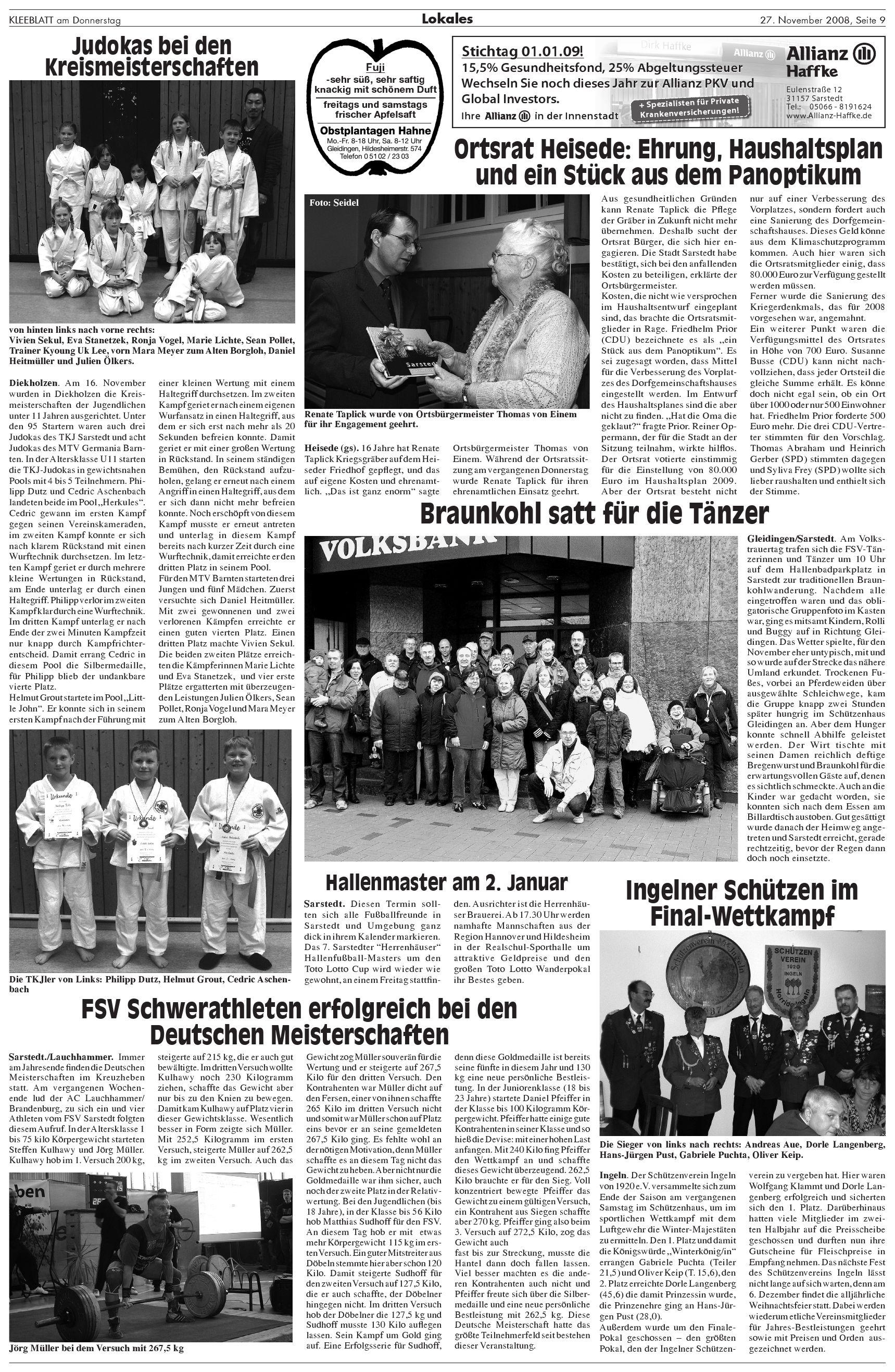 kleeblatt ausgabe 271108kleeblatt verlag  issuu