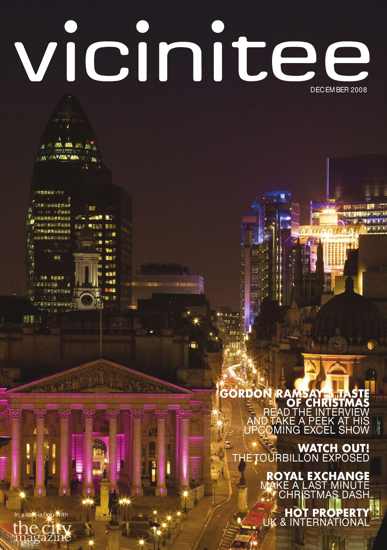 The Vicinitee Magazine Dec 2008 by Runwild Media Group issuu