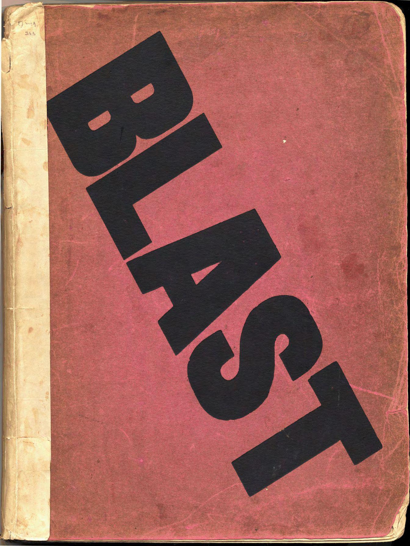 BLAST: A Vorticist Journal no. 1