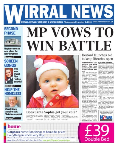 Wirral News West Wirral Edition By Merseyside Weeklies V1s1ter Issuu