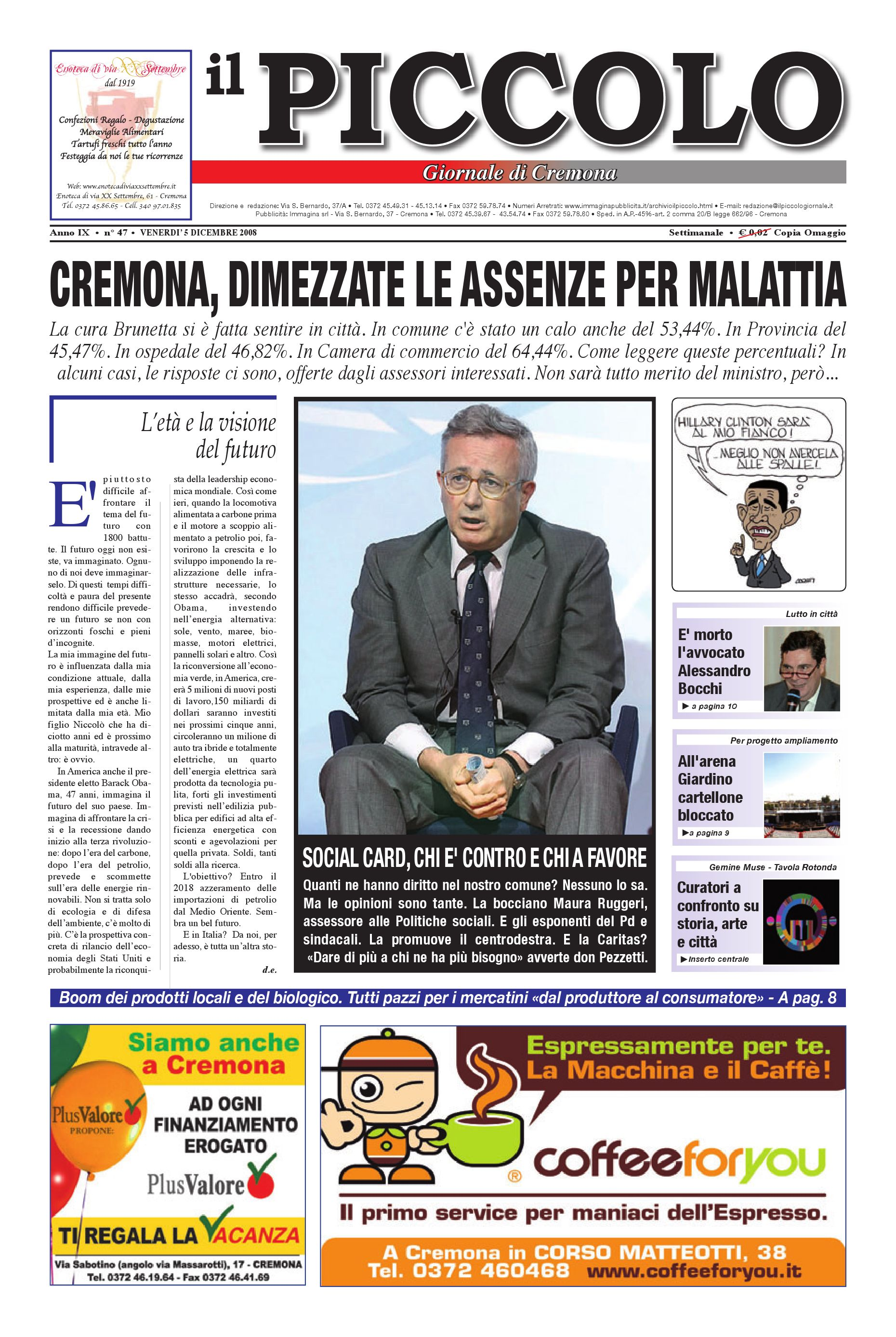 e87dbeebf422 Il PIccolo Giornale di Cremona by promedia promedia - issuu