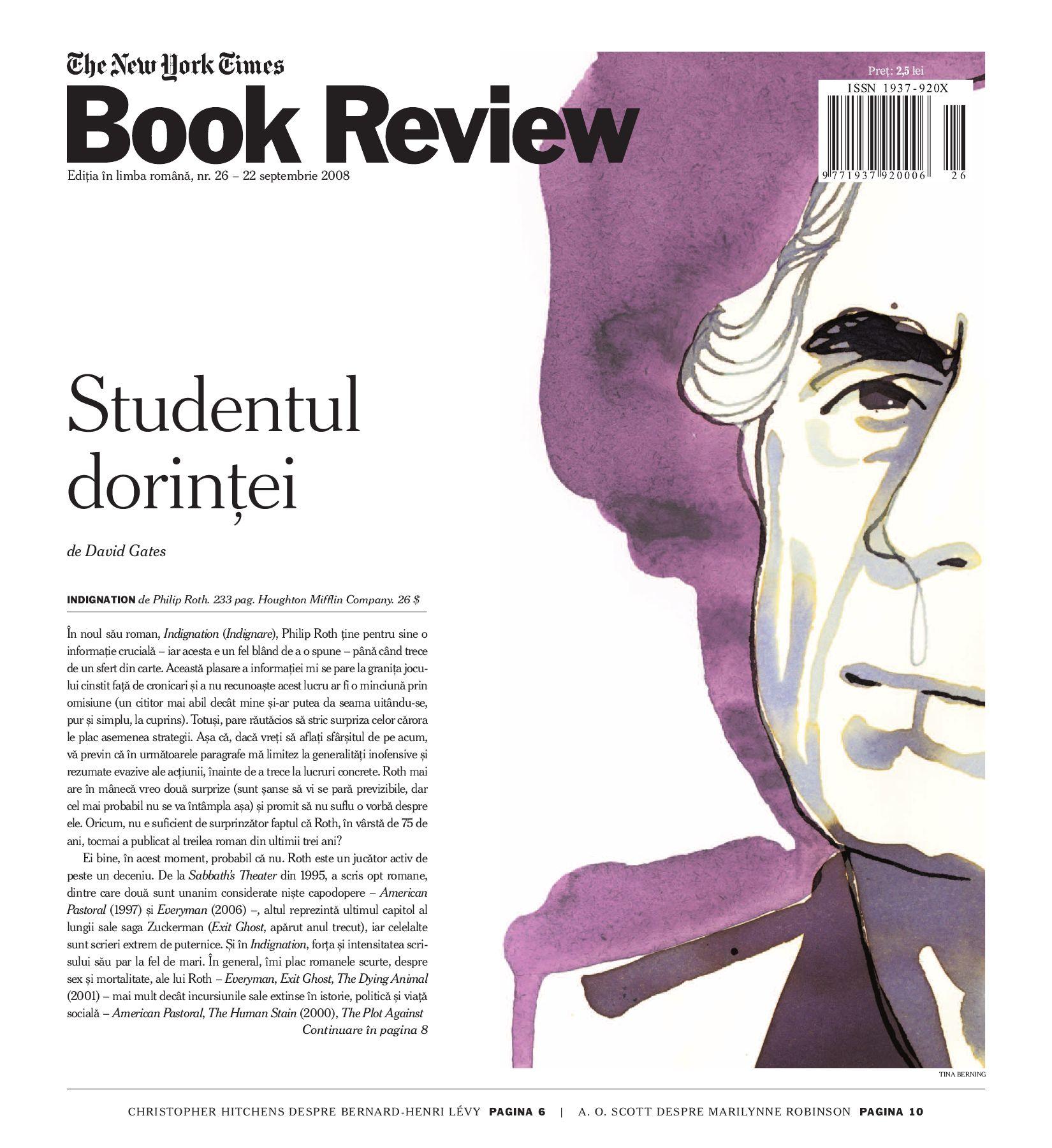 vânzări la cald disponibil magazin NYTBR 26 | 22 septembrie 2008 by Editura Univers - issuu