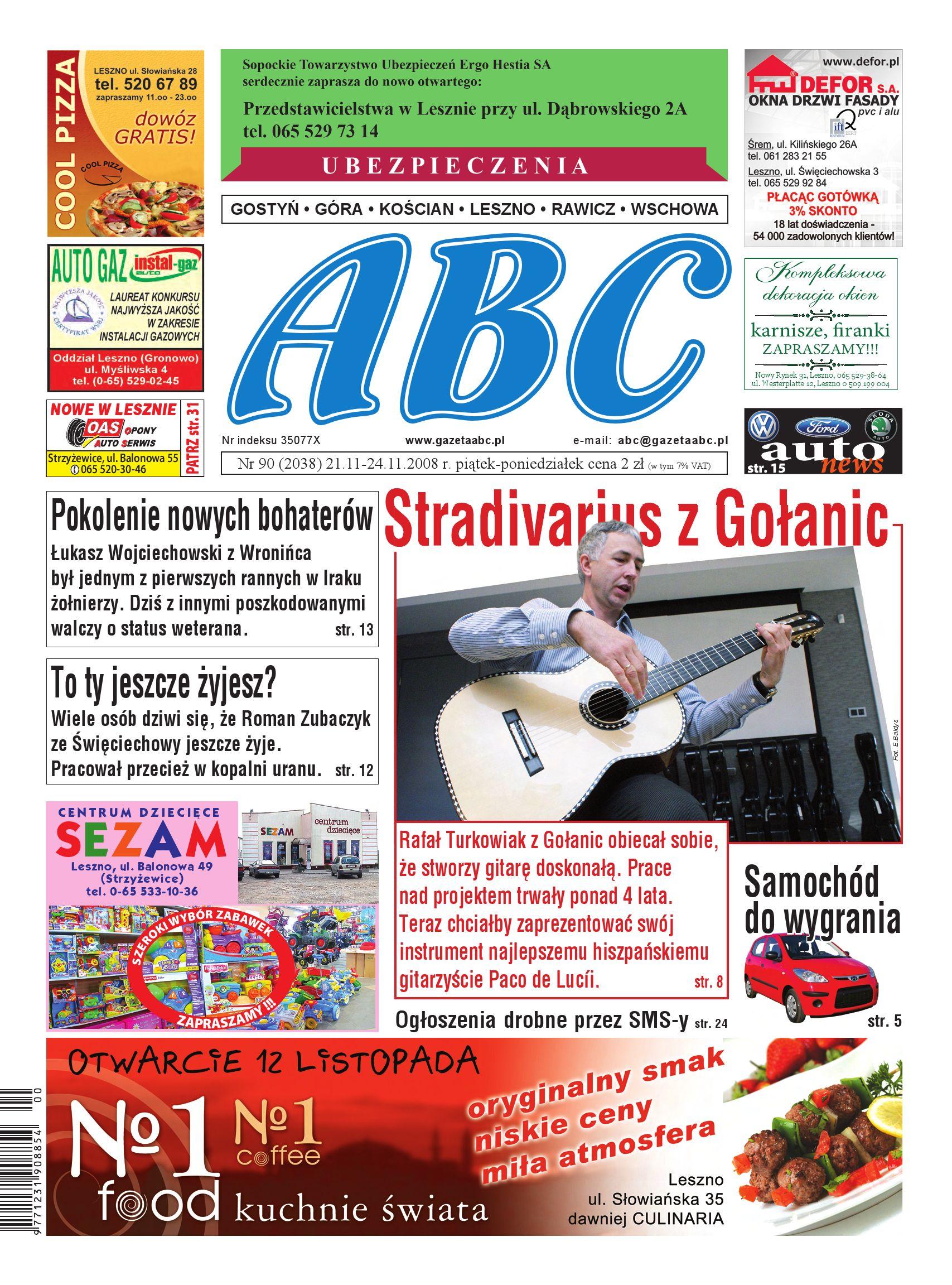 0835c785 Gazeta ABC - listopad 4 by Sekretarz redakcji - issuu