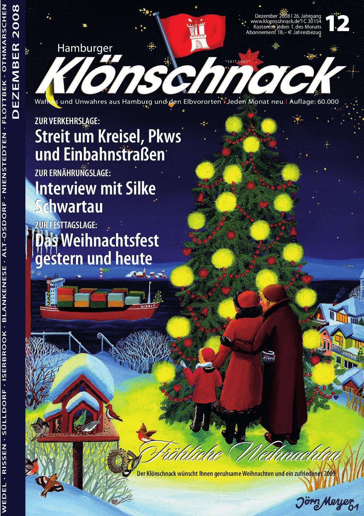 Hamburger Klönschnack - Dezember \'08 by Hamburger Klönschnack - issuu
