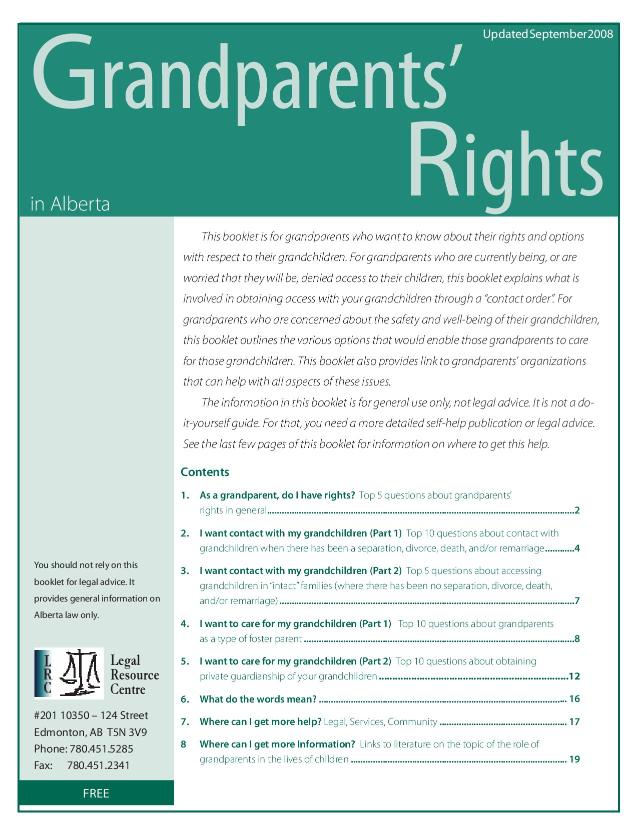 Grandparents rights in alberta by oaknet older adult knowledge grandparents rights in alberta by oaknet older adult knowledge network issuu solutioingenieria Images