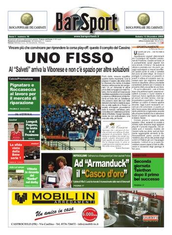 Anno1 Numero Xvi 13 Dicembre 2008 By Www Barsportweb It Www