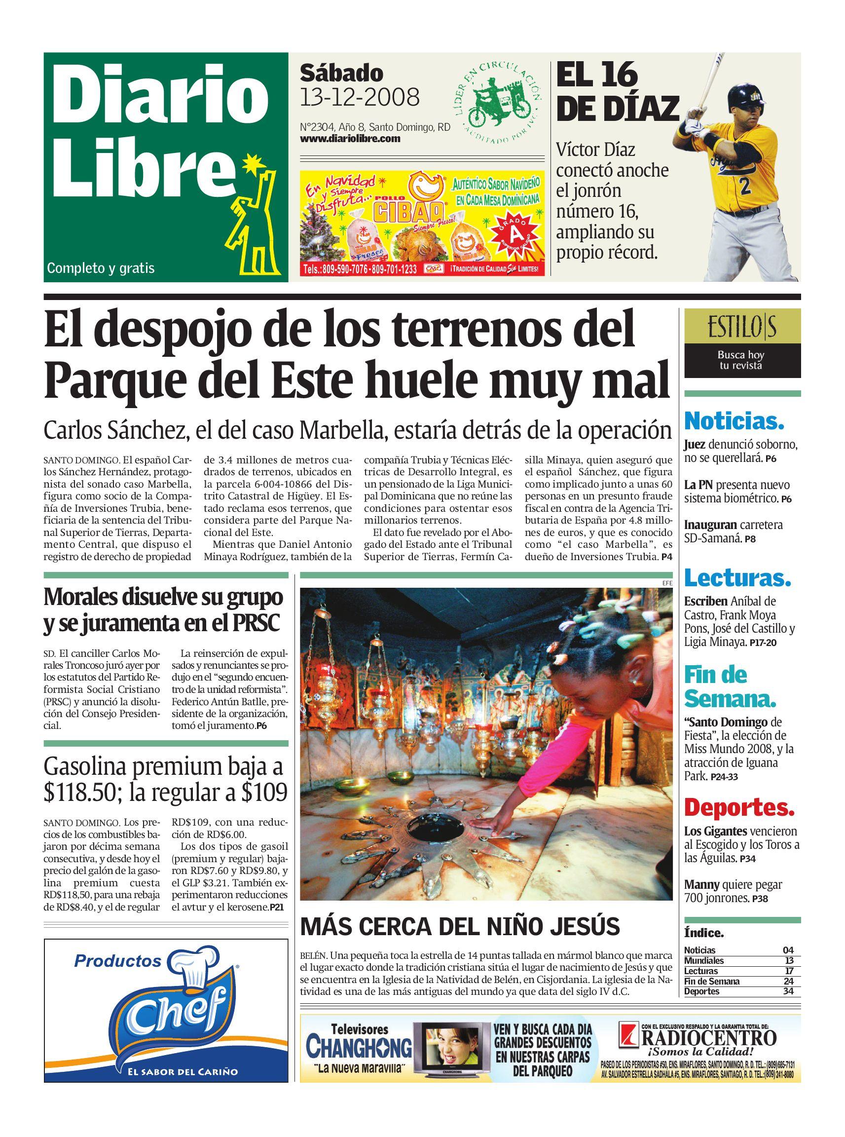 diariolibre2304 by Grupo Diario Libre, S. A. - issuu
