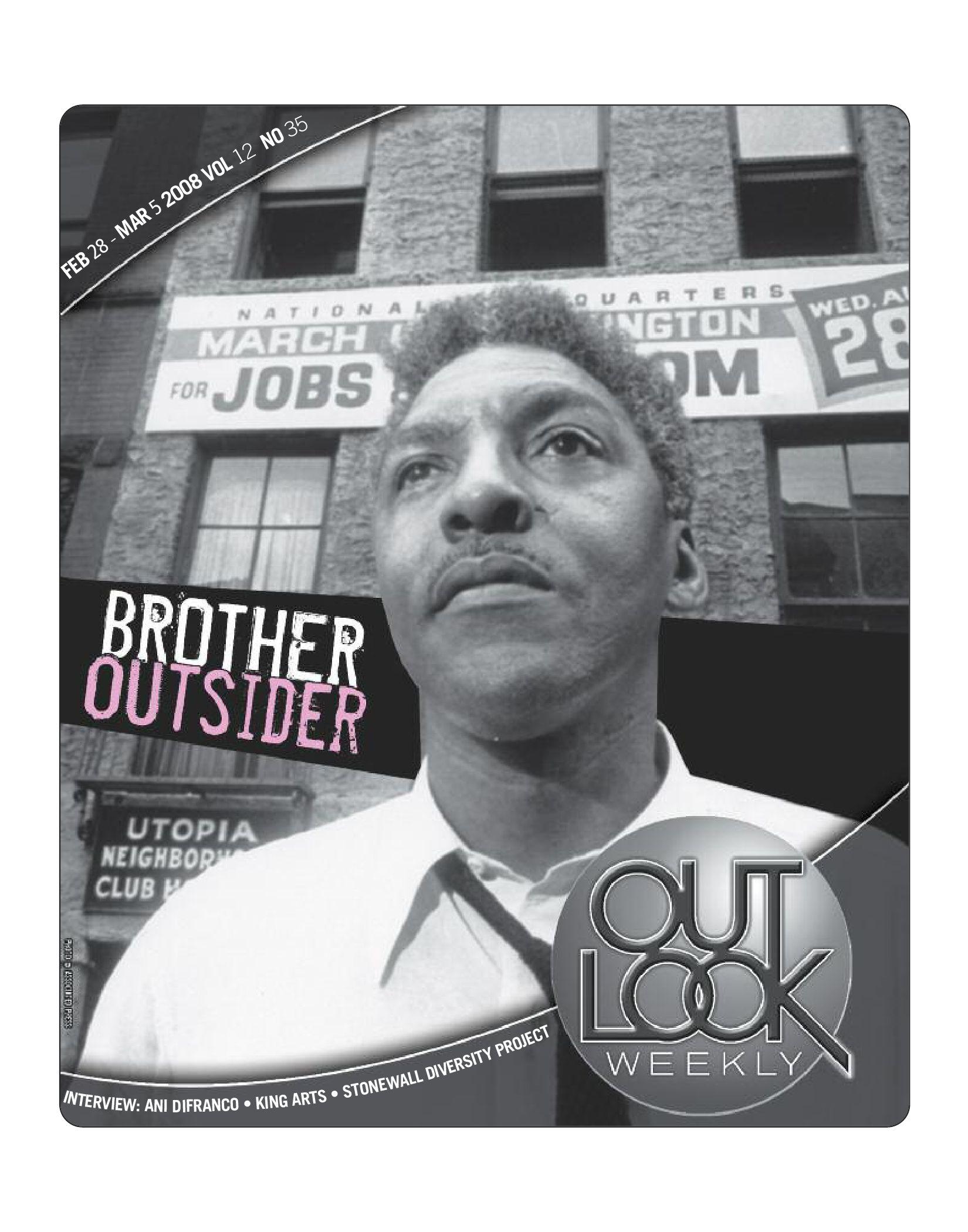 02.28.08 Outlook Weekly - Bother Outsider: Bayard Rustin