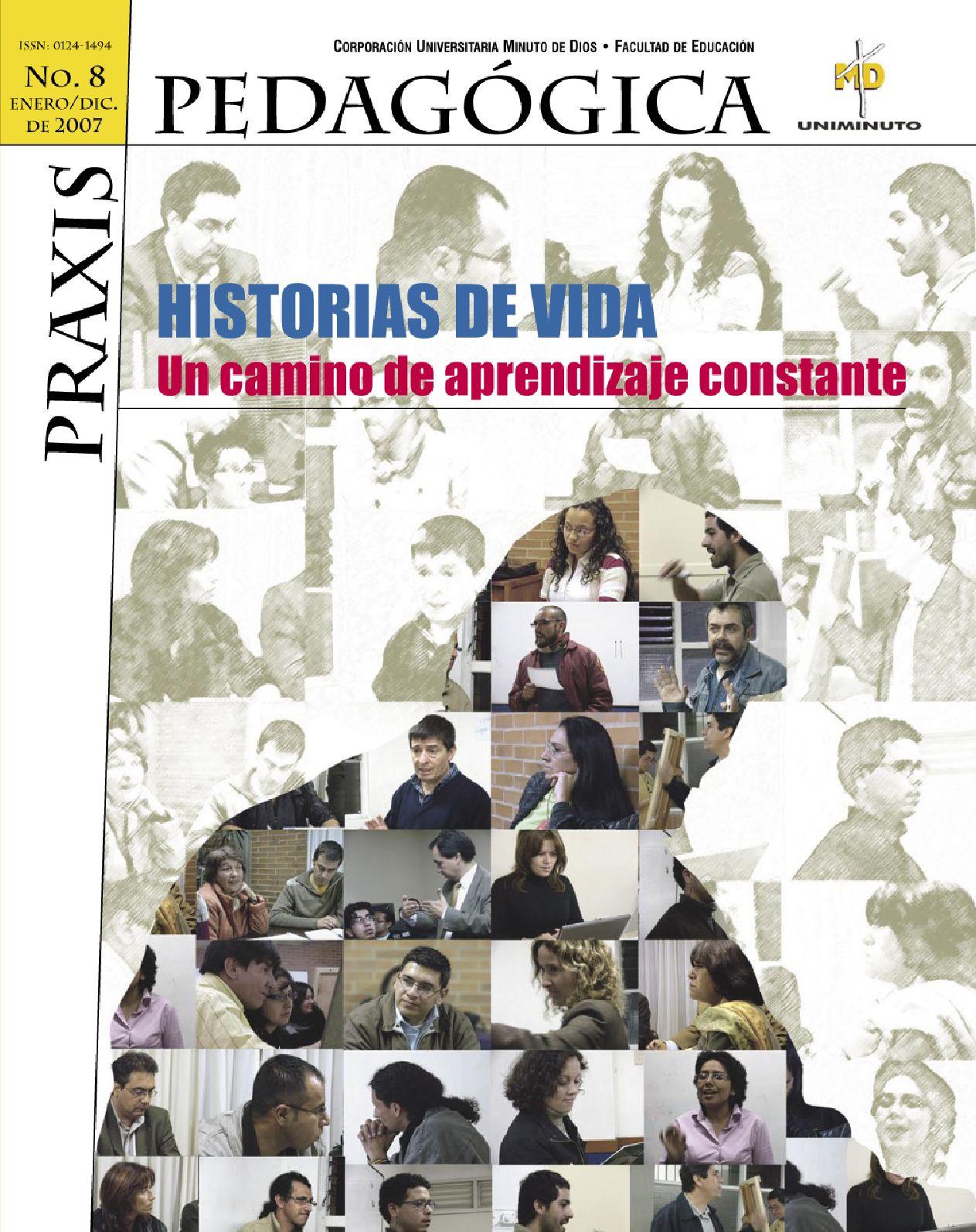 Revista Praxis Pedagógica 8 - Digital by Corporación Universitaria ...