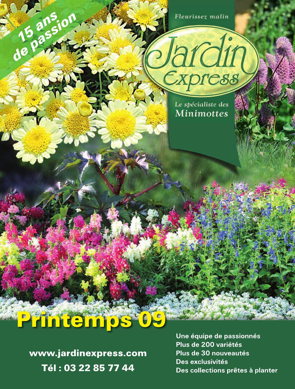 Catalogue jardin express printemps 2009 by dpdh dpdh issuu for Jardin express