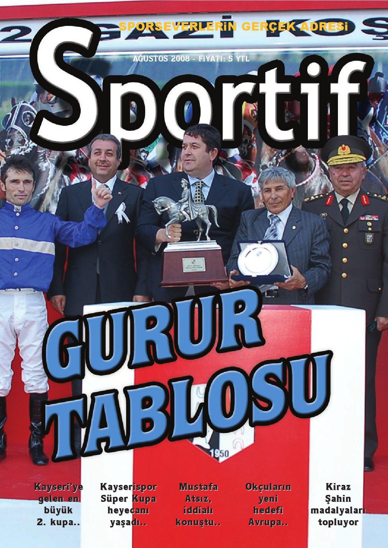Sportif Dergi 12 Sayi By Ayhan Baynal Issuu