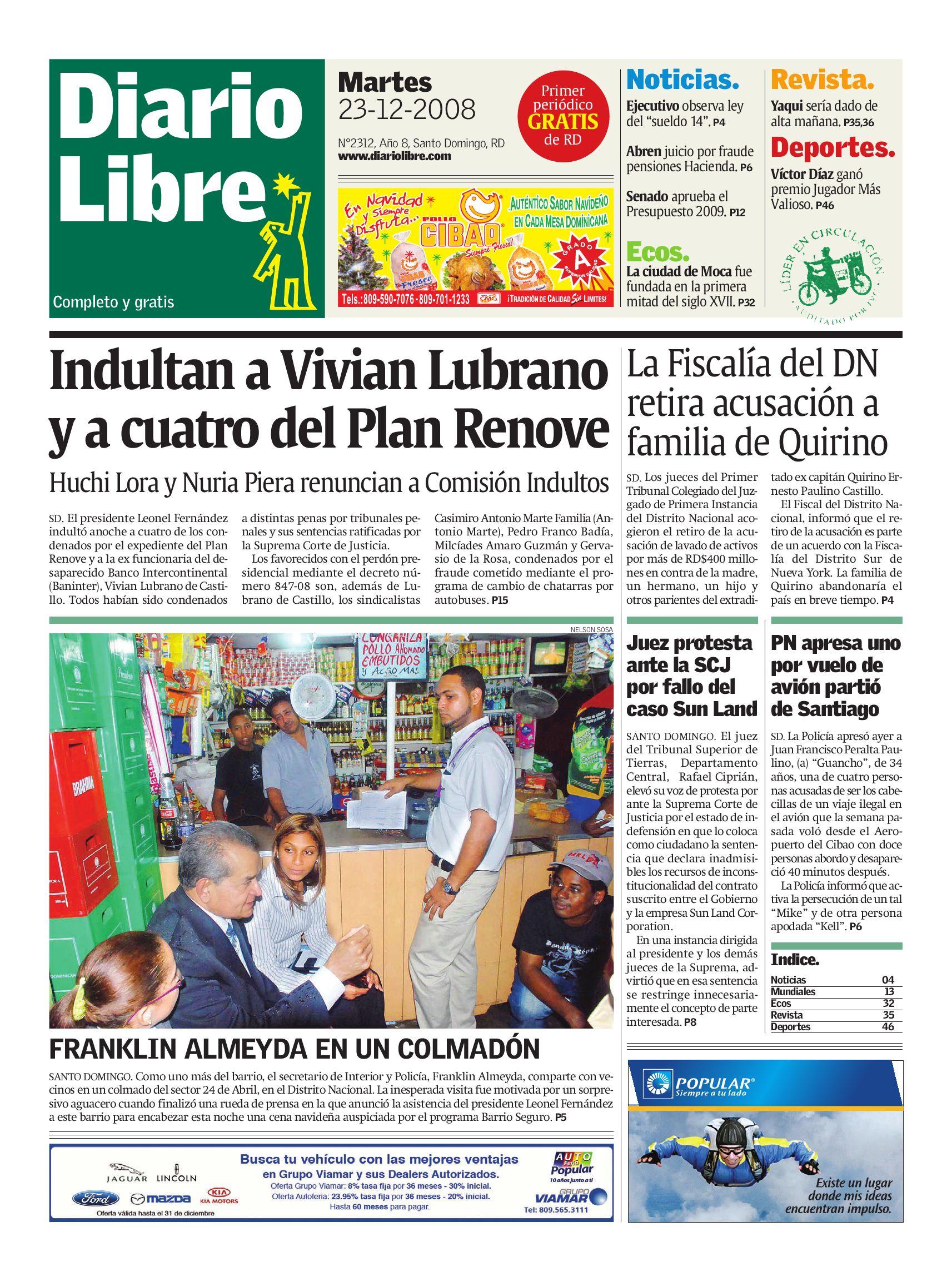 diariolibre2312 by Grupo Diario Libre, S. A. - issuu