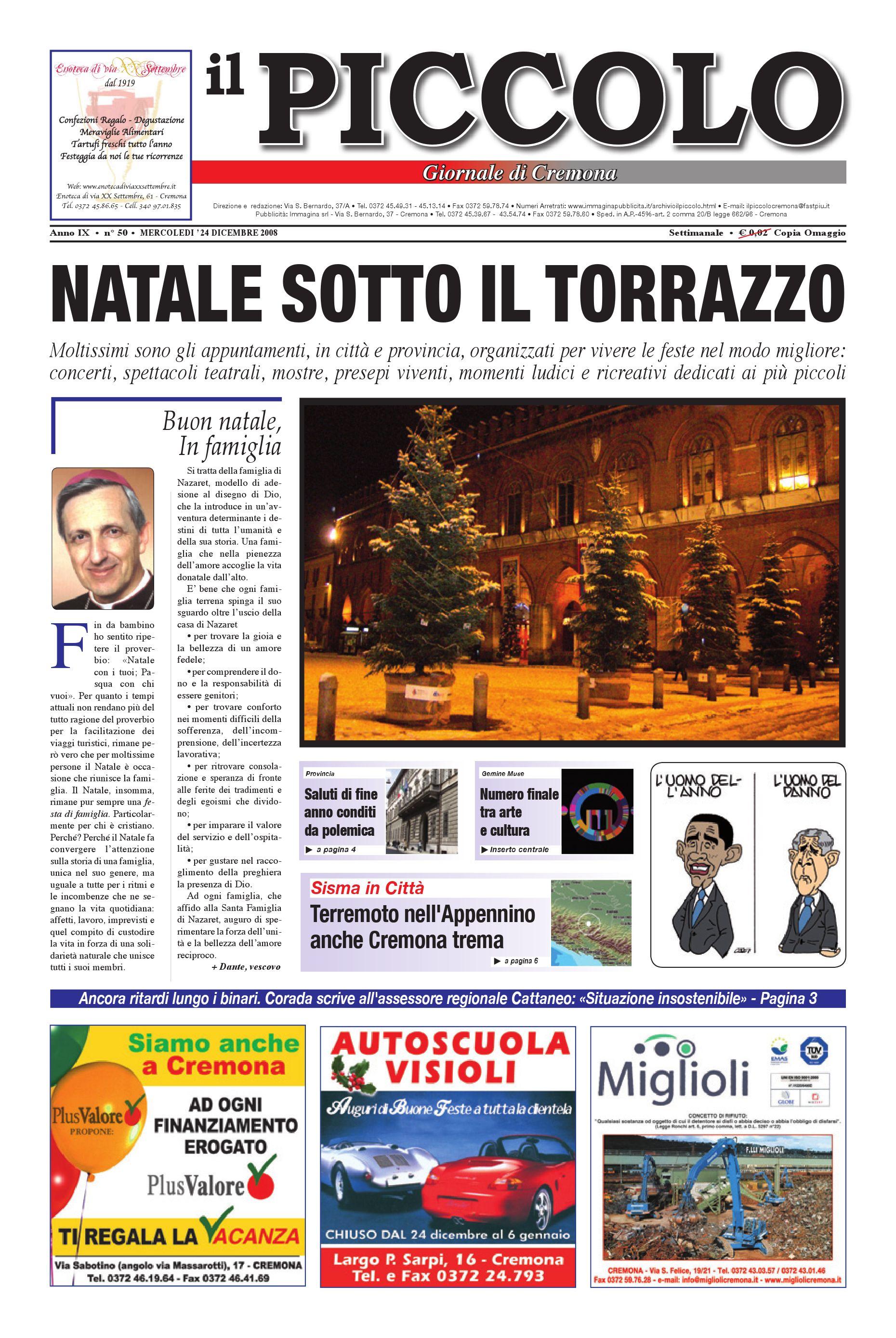 bac63cc5ad9b Il Piccolo Giornale di Cremona by promedia promedia - issuu
