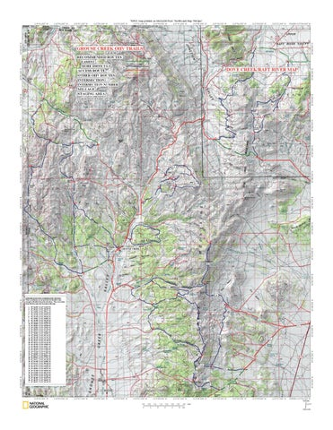 Grouse Creek Utah Map.Grouse Creek Ohv Trails By Larry Gray Issuu