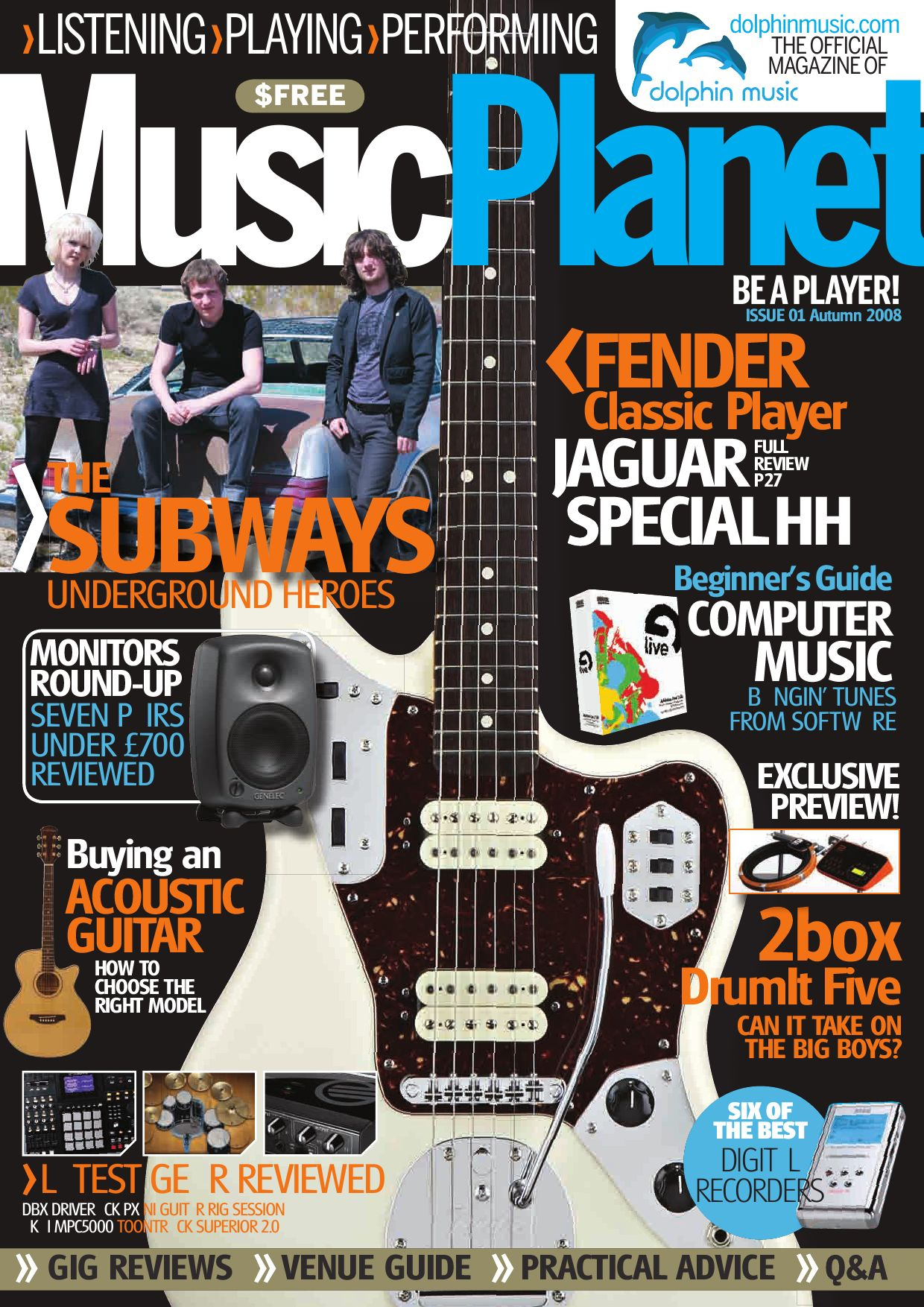 Music Planet - Issue 1 by Dolphin Music - issuu on
