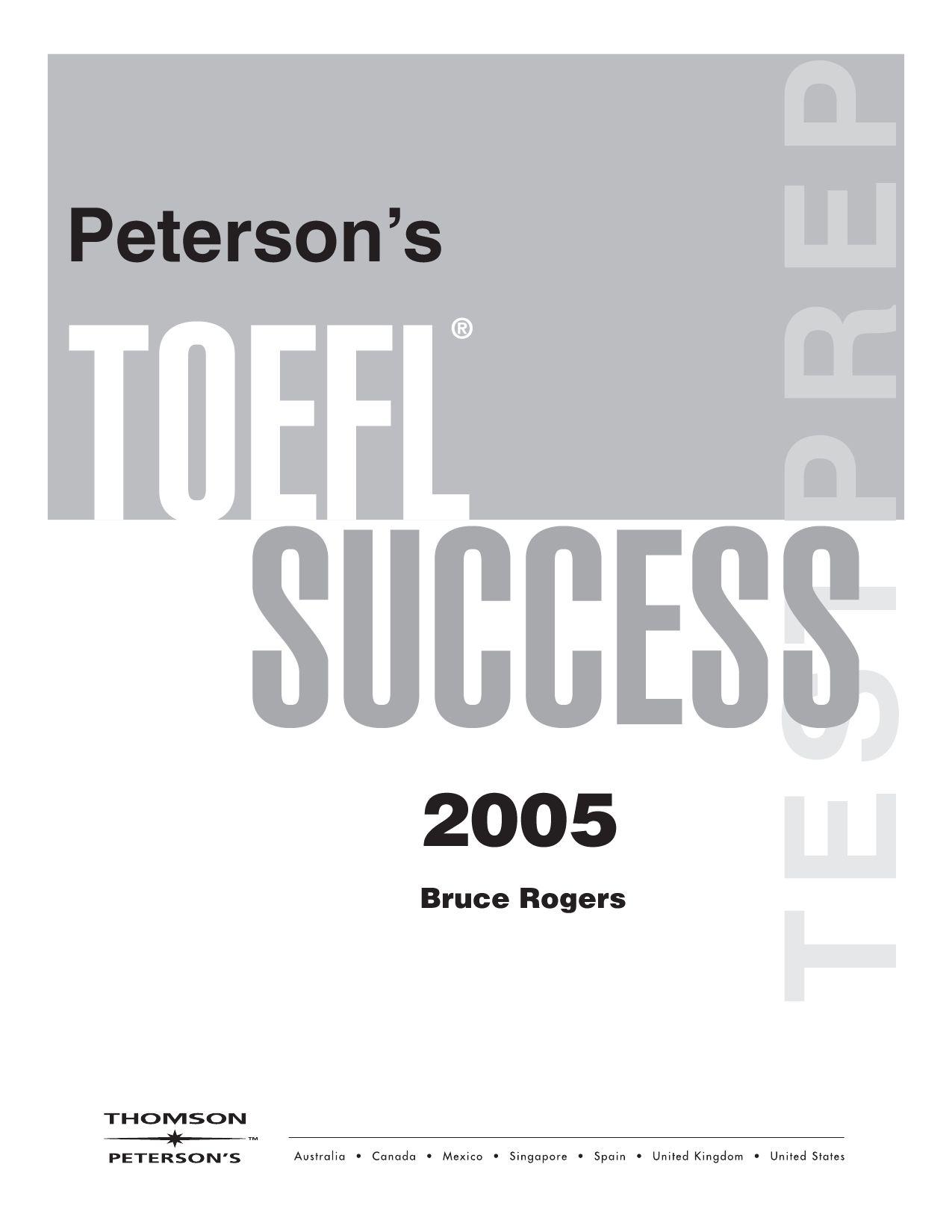 TOEFL Success by Ali Safaie - issuu