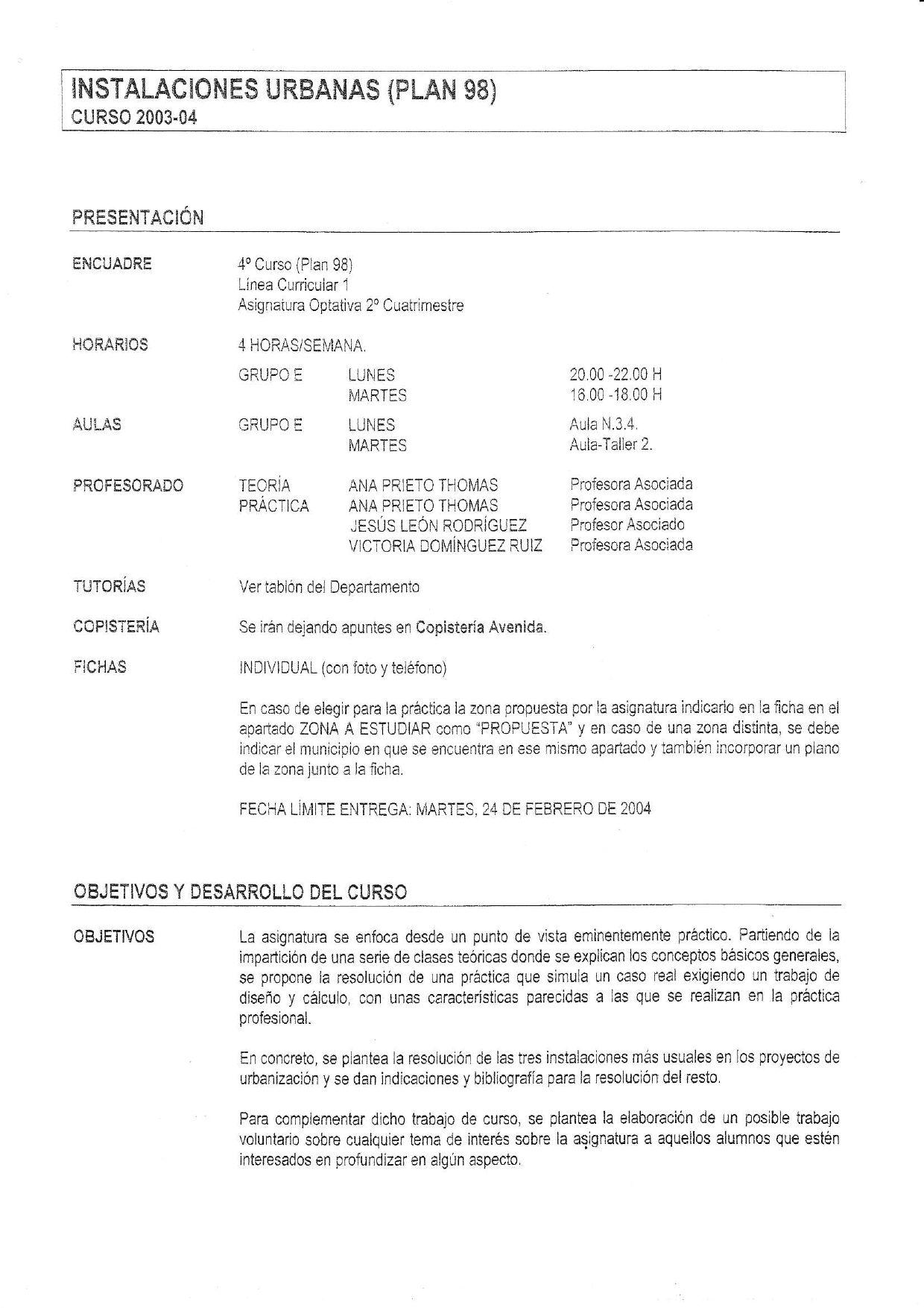 Instalaciones Urbanas - 1de2 by Andres TG - issuu