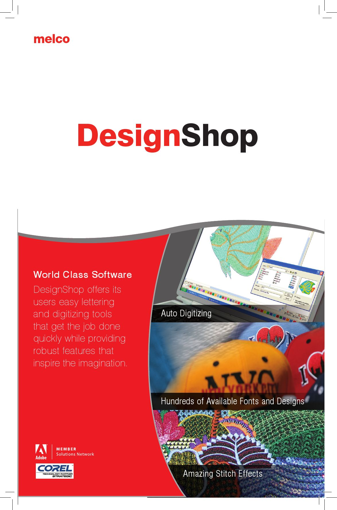 Melco Designshop Embroidery Software By Melco Issuu