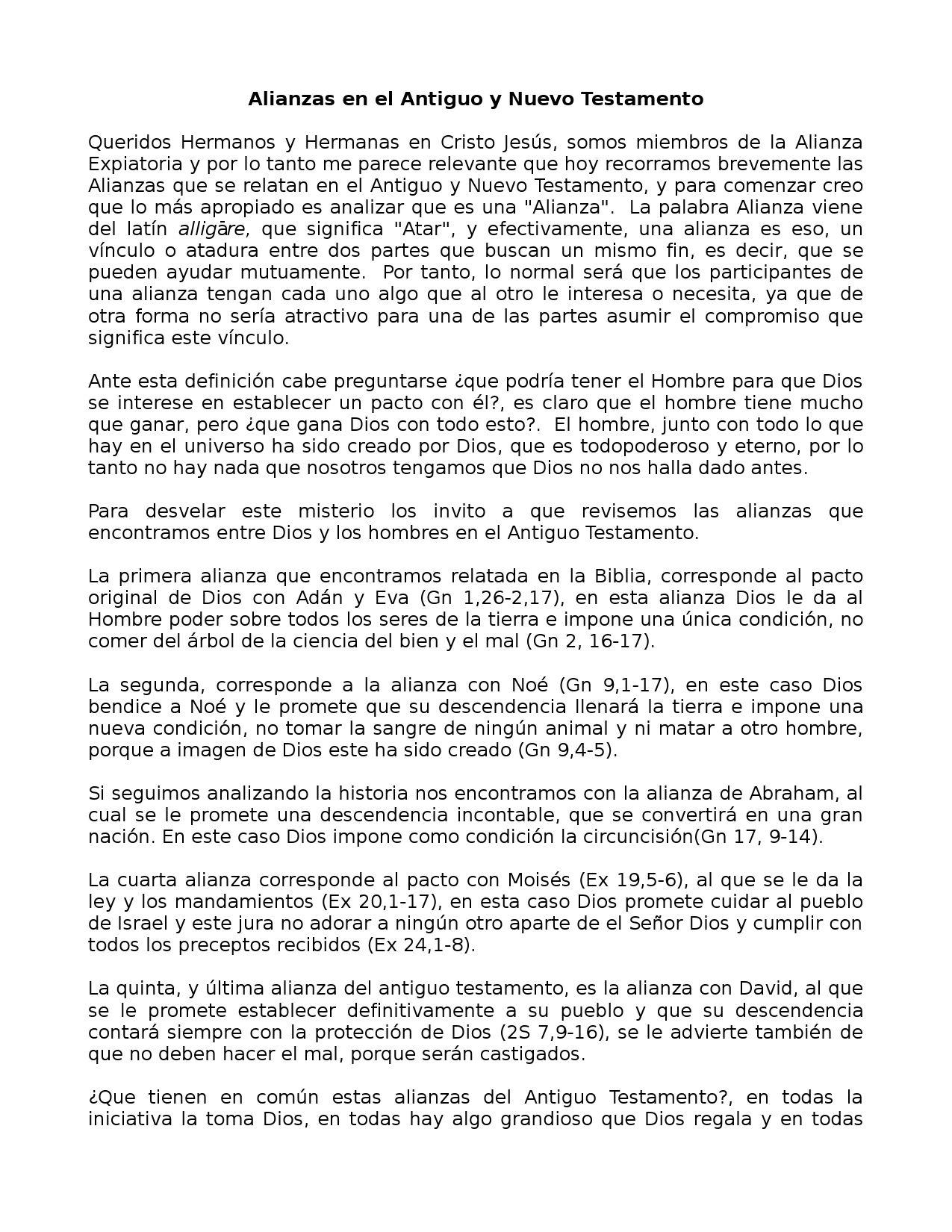 Alianzas en el Antiguo y Nuevo Testamento by Enrique Maldonado - issuu