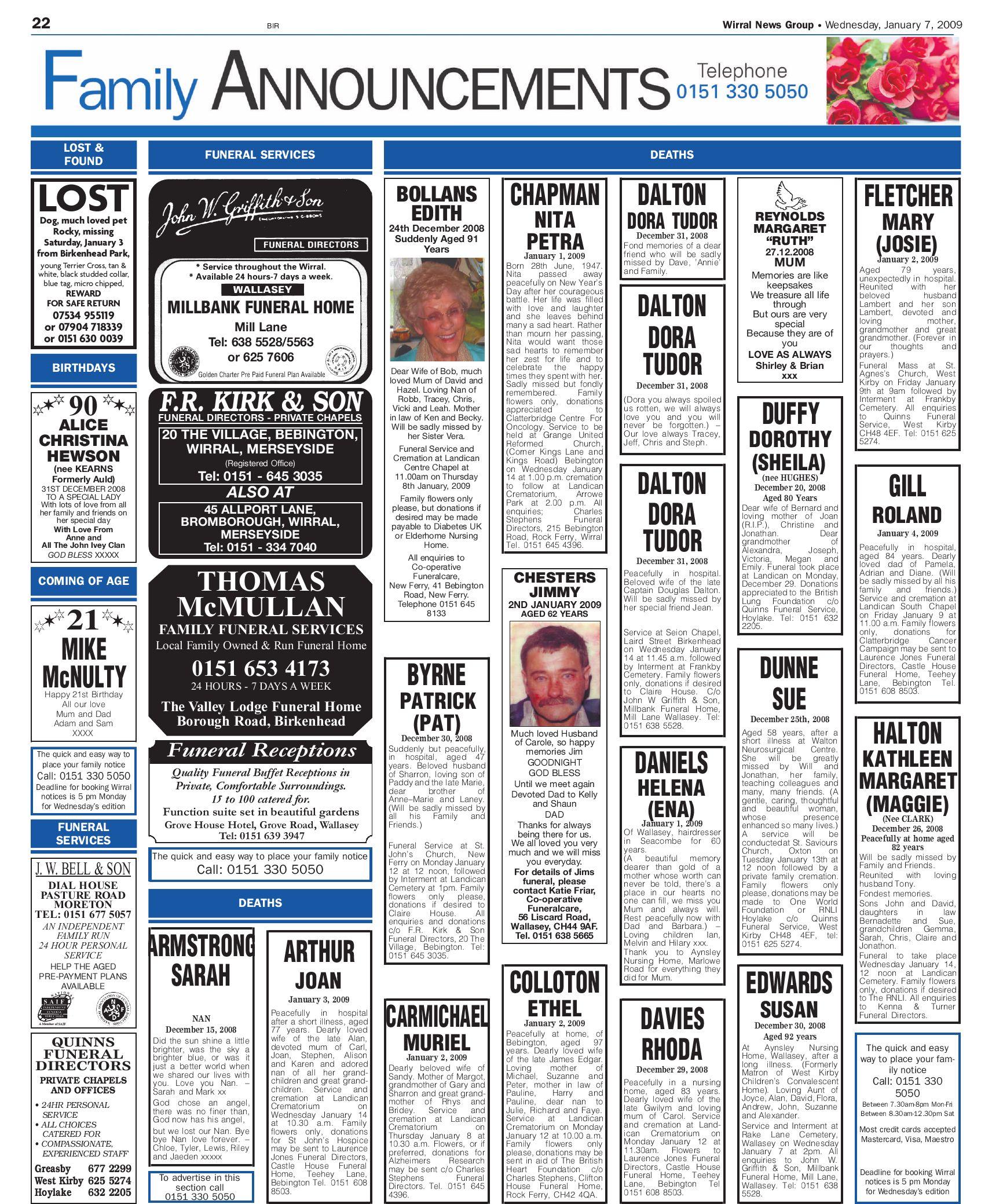 Wirral News Wallasey Edition By Merseysideweeklies V1s1ter Issuu