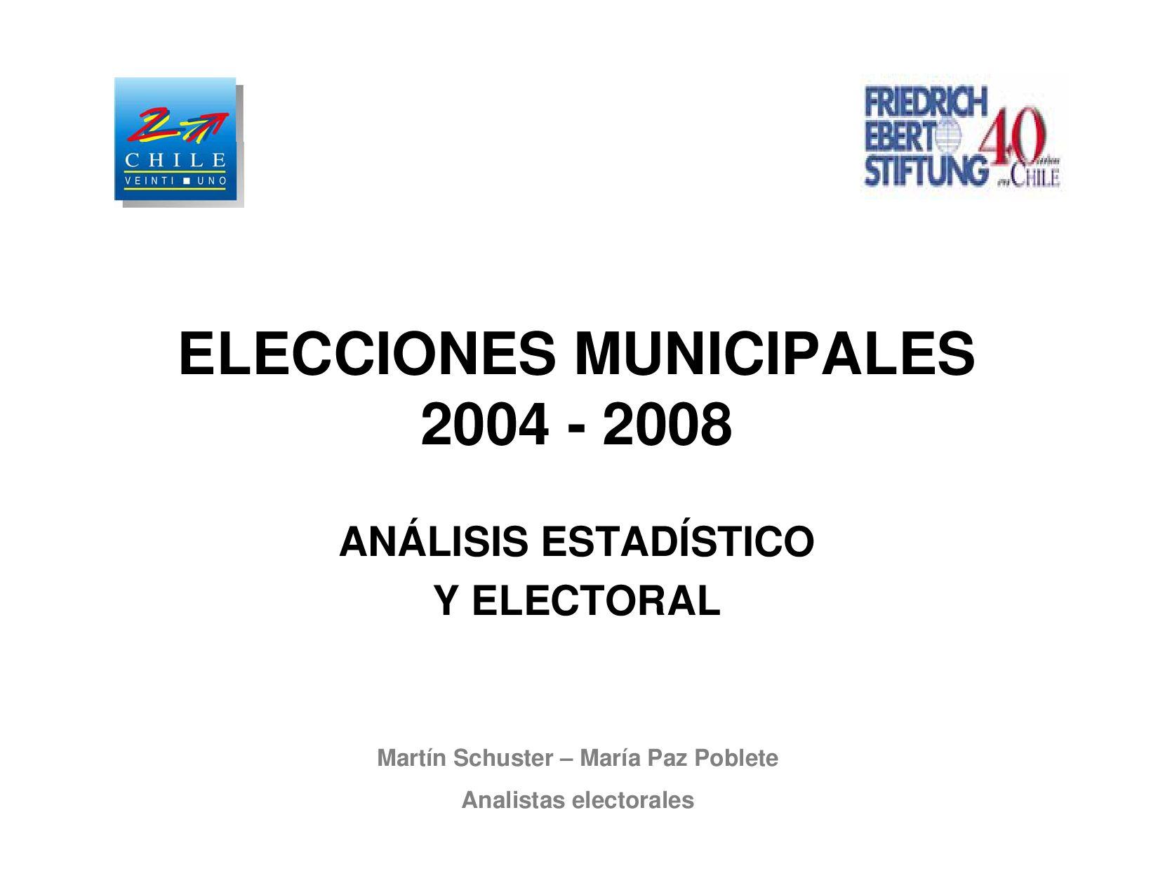 Resultados electorales elecci n municipal 2008 by for Resultados elecciones ministerio interior