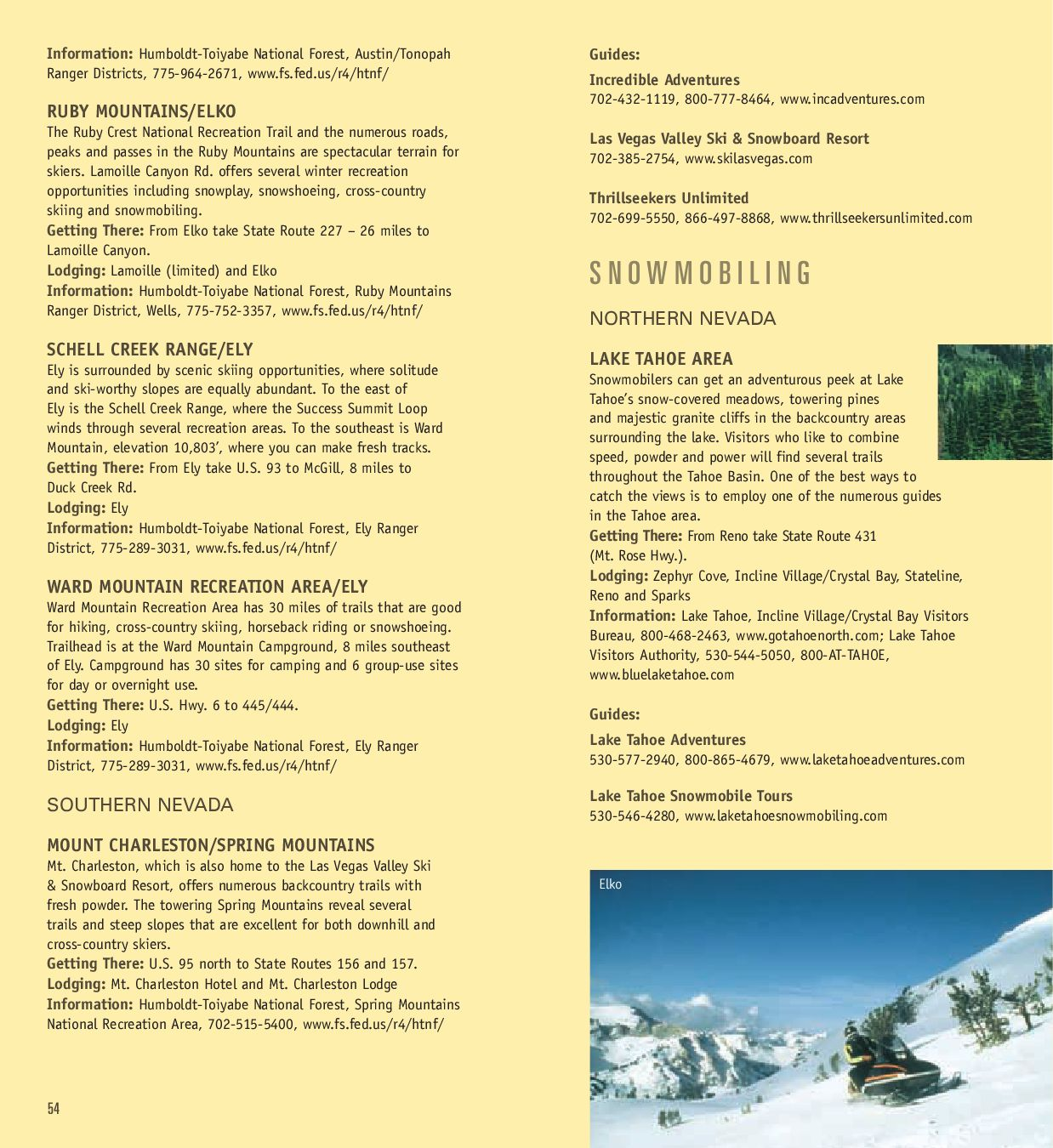 Nevada Adventure Guide by Nevada Commission on Tourism - issuu