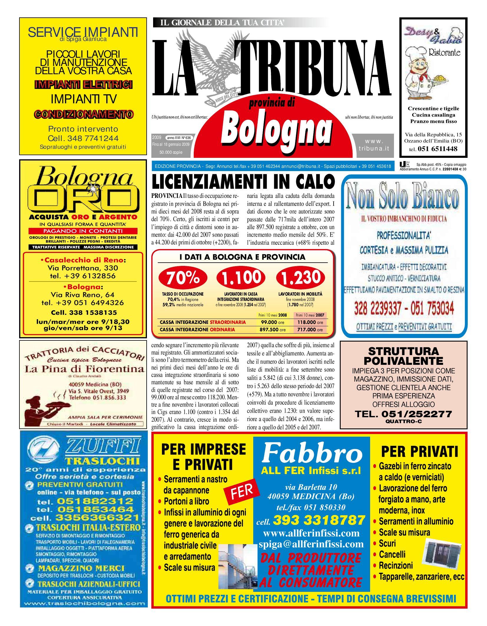 8ee2095193 Tribuna 636 by La Tribuna srls - issuu