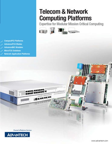 Telecom & Network Computing Platforms by Advantech - issuu