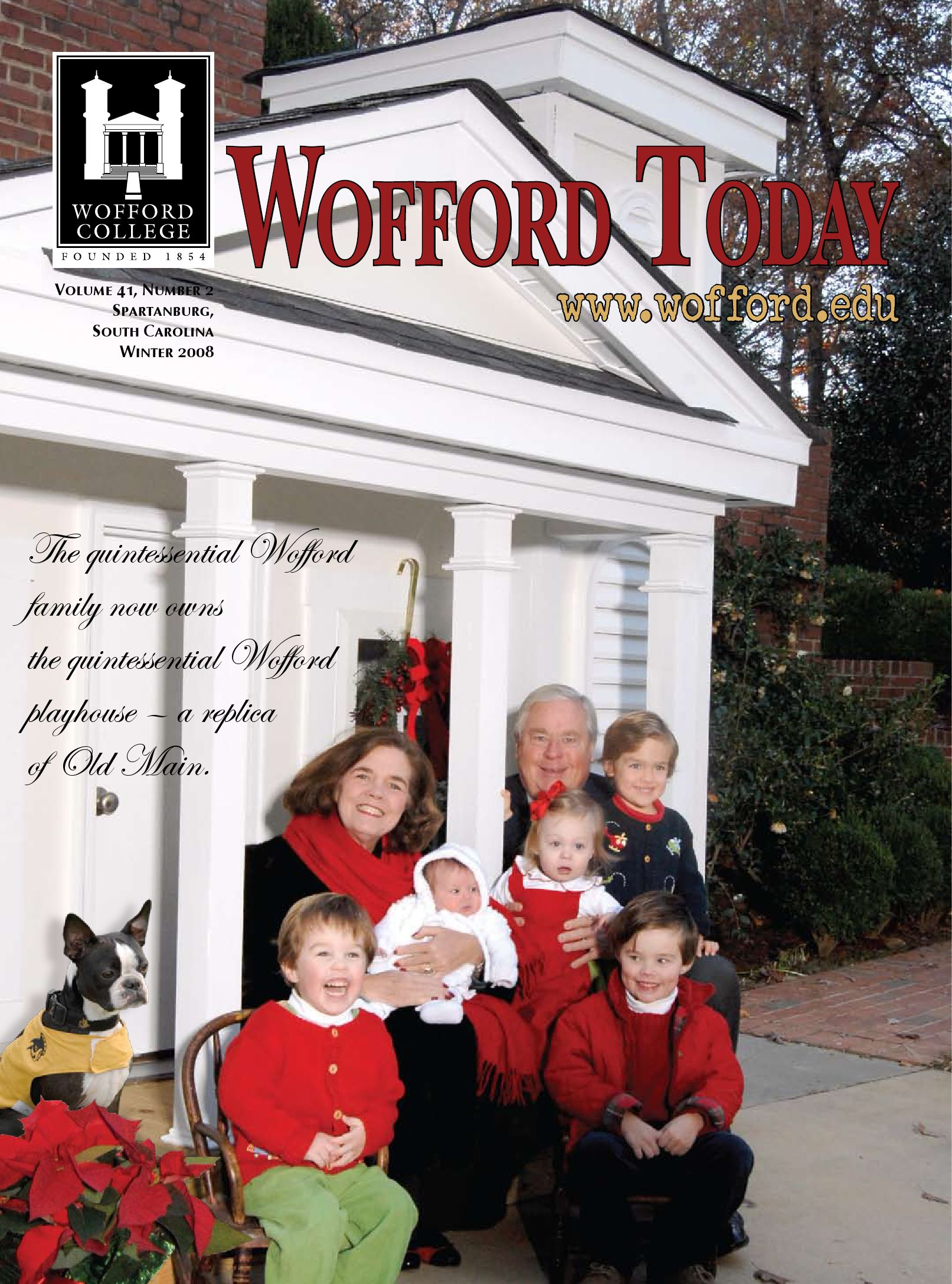 wofford today winter 08 by wofford college issuu