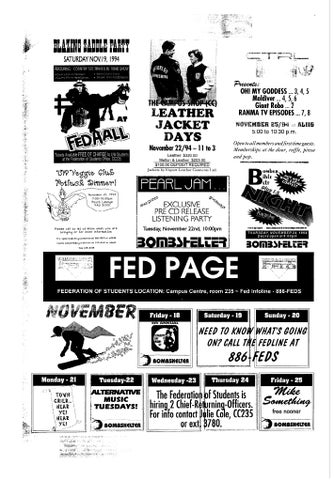 Friday, November 18,1994 by Imprint Publications - issuu