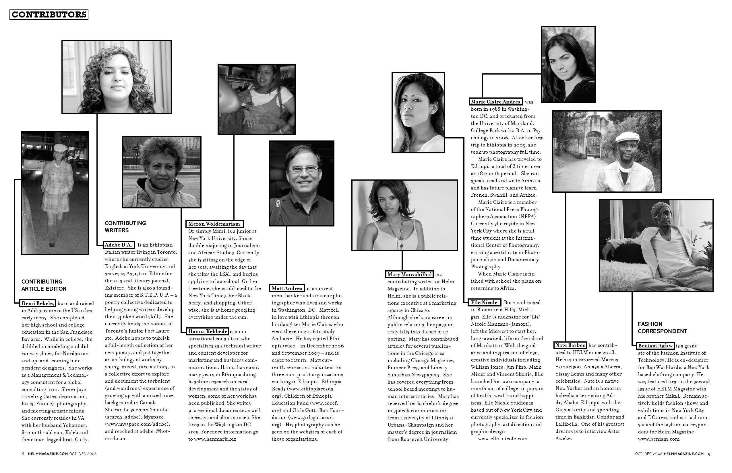 Helm Magazine Oct-Dec 2008 Issue
