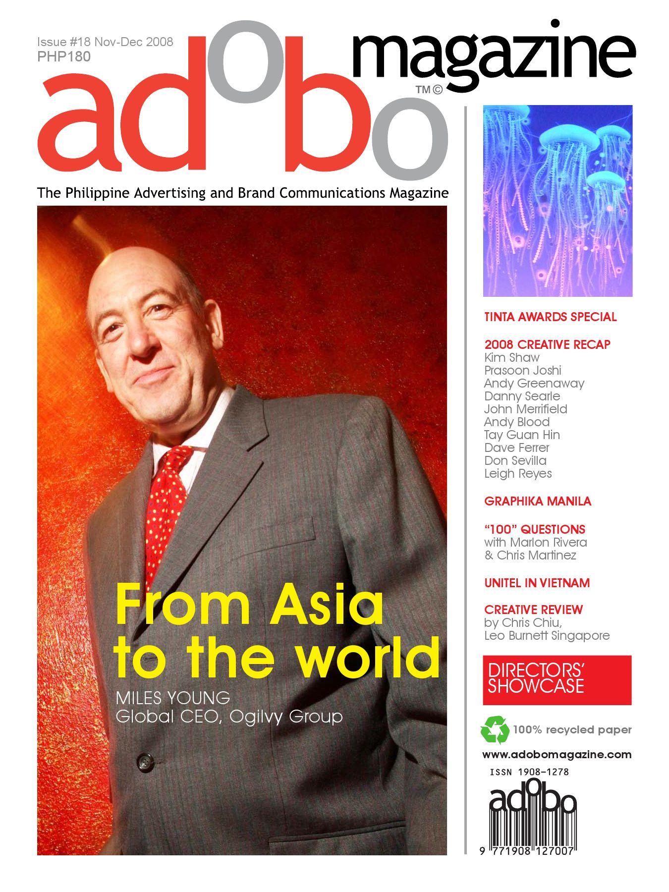 c1c481a350f6 adobo magazine | November - December 2008 by Sanserif, Inc. - issuu