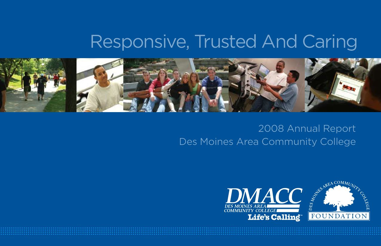 Dmacc 2008 Annual Report By Gerald Titchener Issuu