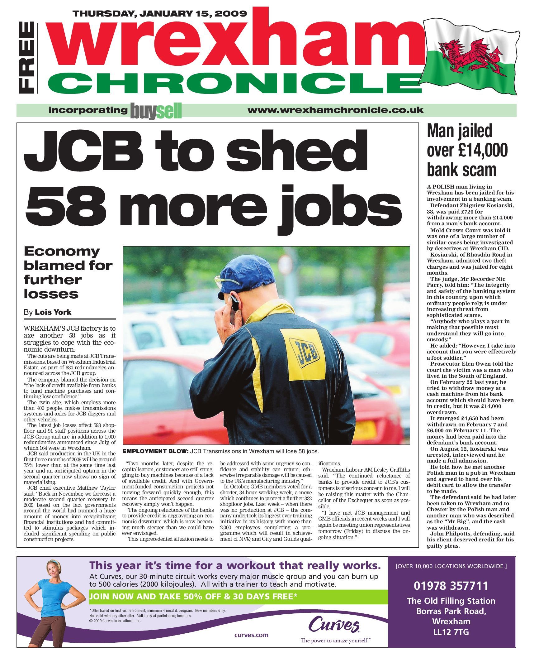 Wrexham Chronicle 15 1 09 by James Shepherd issuu