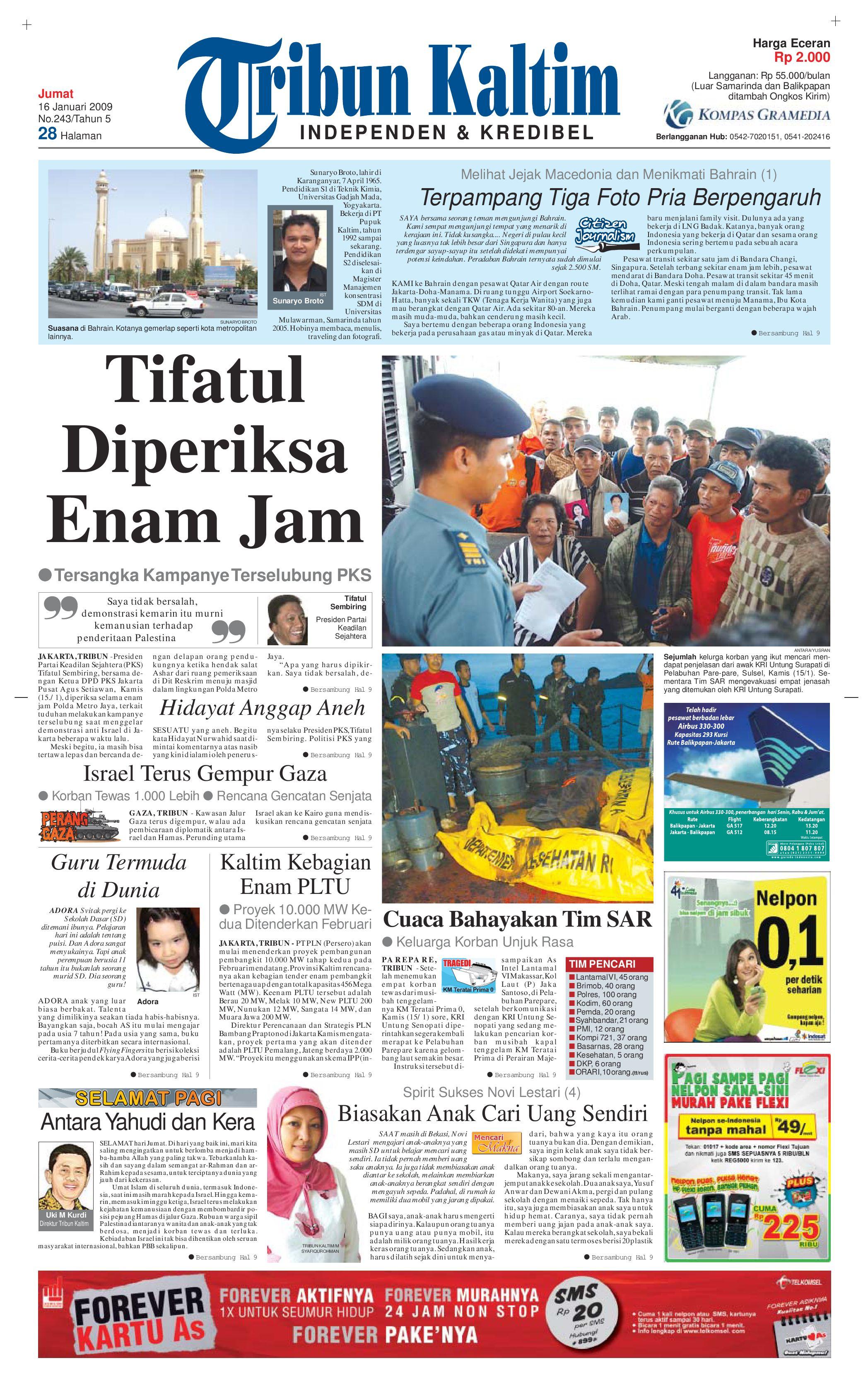Tribun Kaltim 16 Januari 2009 By Tohir Issuu Farfum Colon Garuda Airpot 100ml