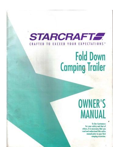1994 StarCraft Pop up Camper by Lance Greenwood - issuu