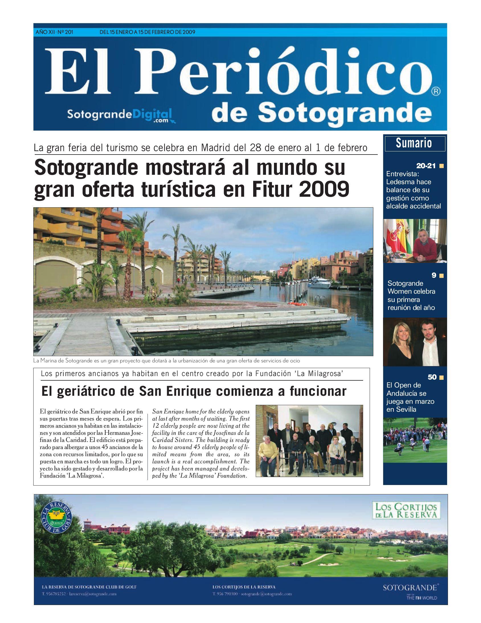 El Periódico de Sotogrande by HCP GROUP SOTOGRANDE - issuu 52f703af555