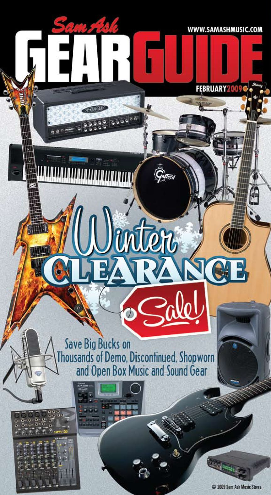 Winter Clearance 09 by Sam Ash Music Corp. - issuu